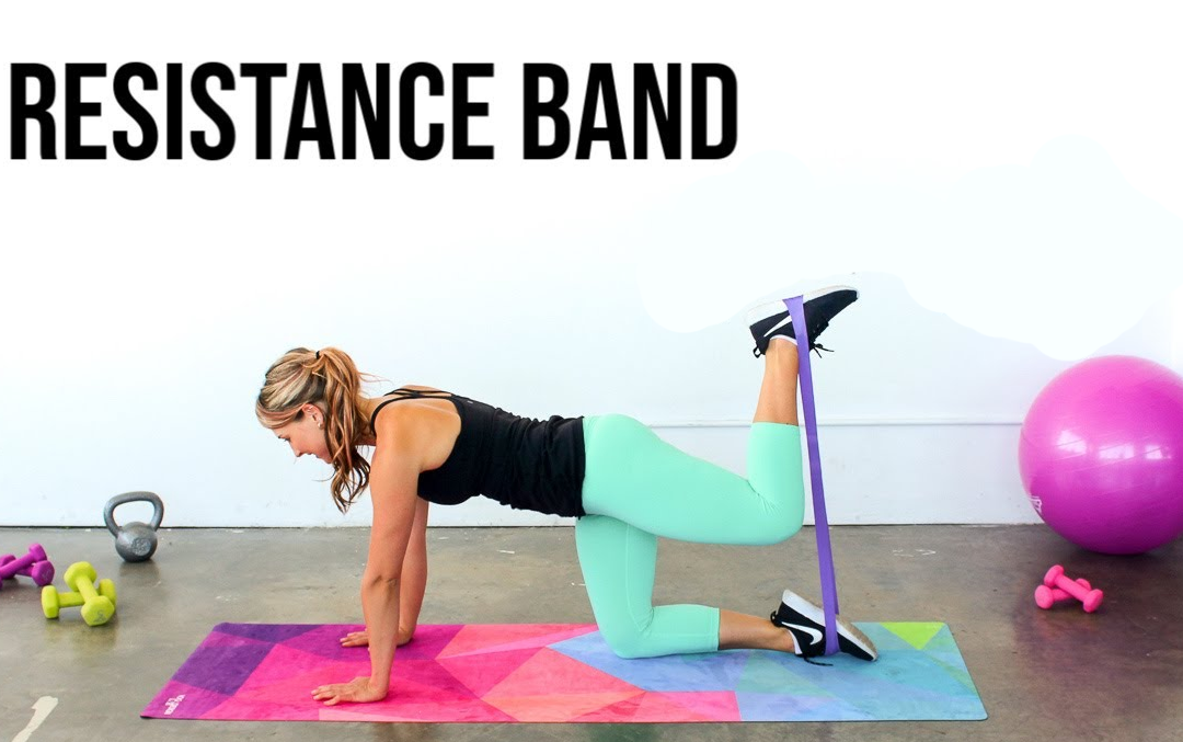 No Gym Resistance Band 9 Minute Total Body Workout